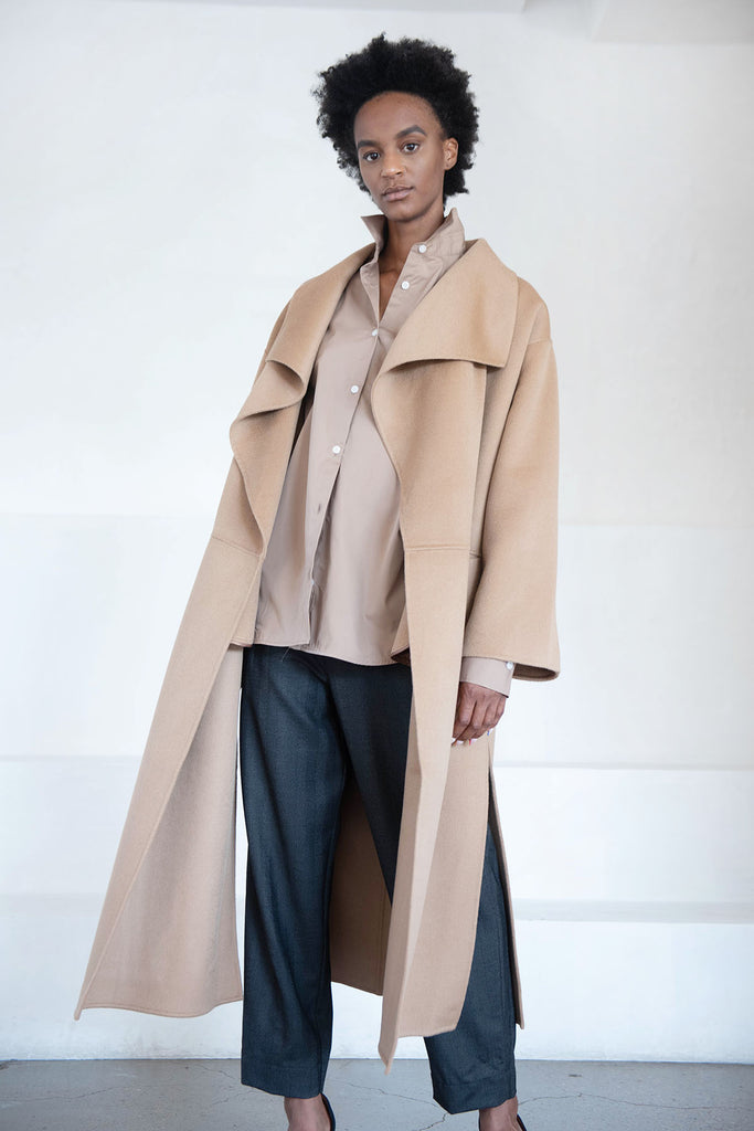 Annecy Coat, Camel