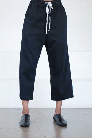 Album di Famiglia - wide and short trousers, black