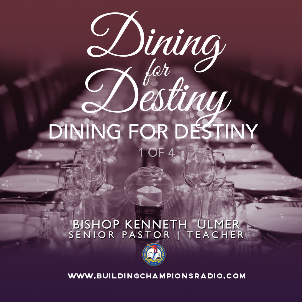 Dining for Destiny: 01 Dining for Destiny (MP3 Download)