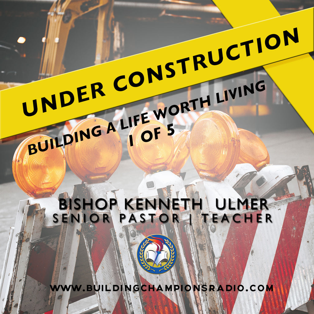 Under Construction: 01 Building A Life Worth Living (MP3 Download)