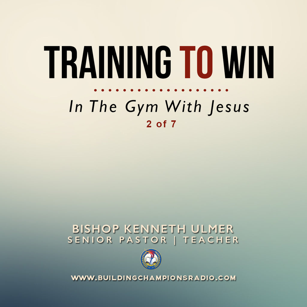 Training To Win- In The Gym With Jesus (MP3 Download)