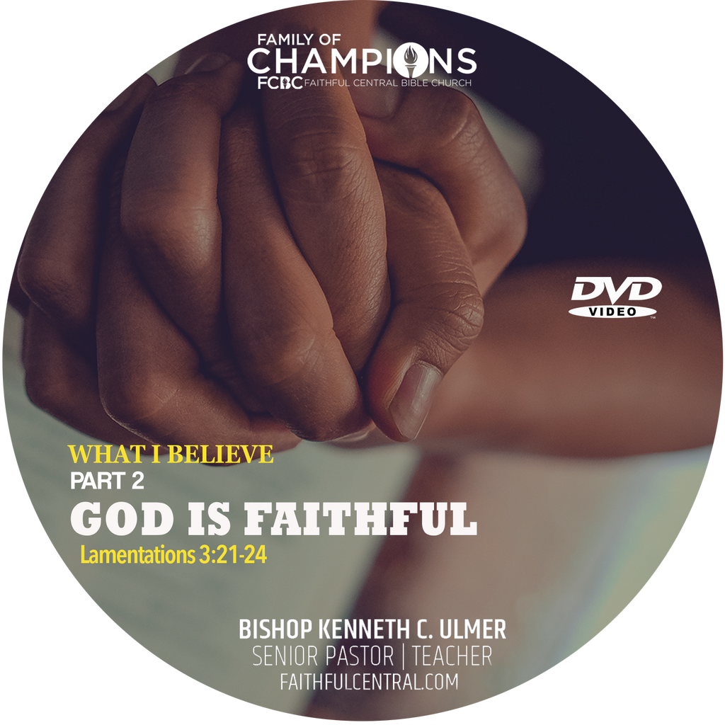 What I Believe Part 2 - God Is Faithful (DVD)