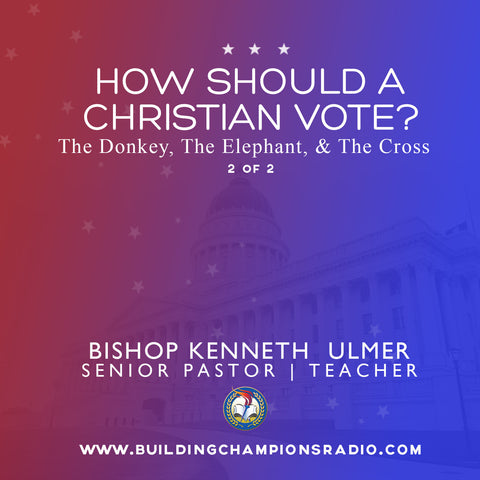 How Should A Christian Vote?: The Donkey, The Elephant and The Cross (MP3 Download)