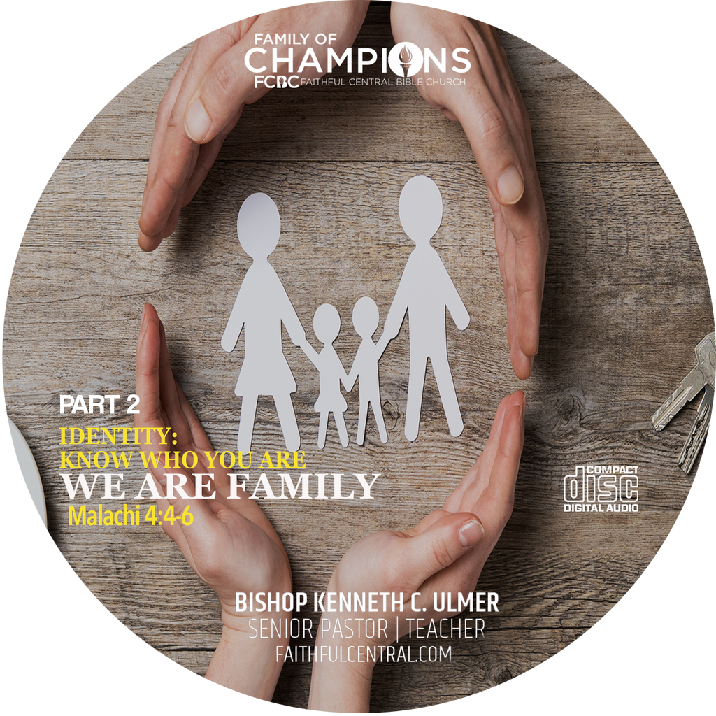 Identity: Know Who You Are Part 2 - We Are Family (CD)