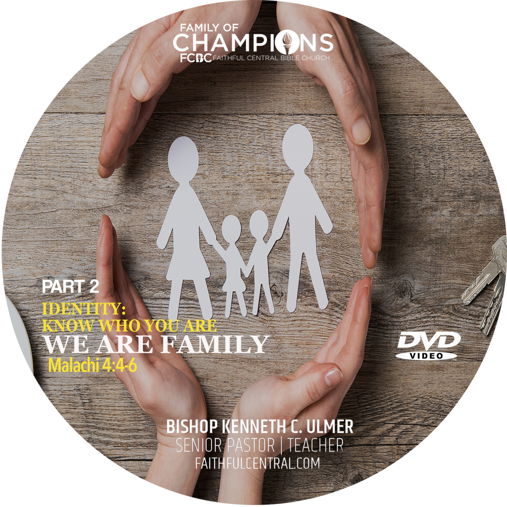 Identity: Know Who You Are Part 2 - We Are Family (DVD)