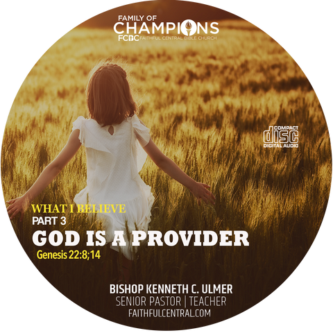 What I Believe Part 3 - God Is A Provider (CD)