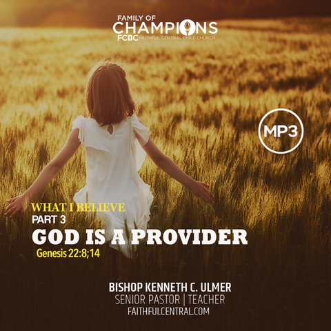 What I Believe Part 3 - God Is A Provider (MP3 Download)