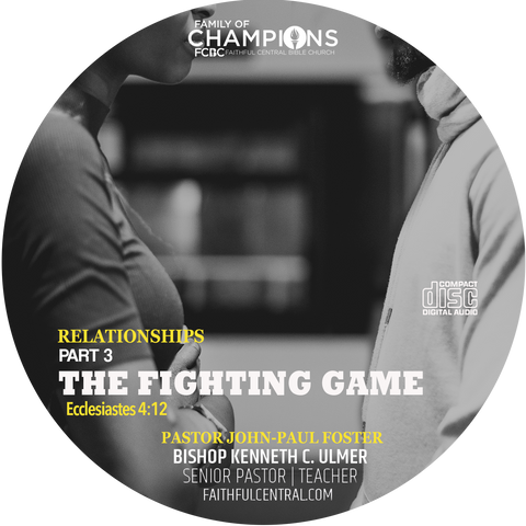 Relationships Part 3 - The Fighting Game (CD)