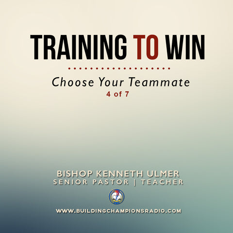 04 Training To Win- Choose Your Teammate