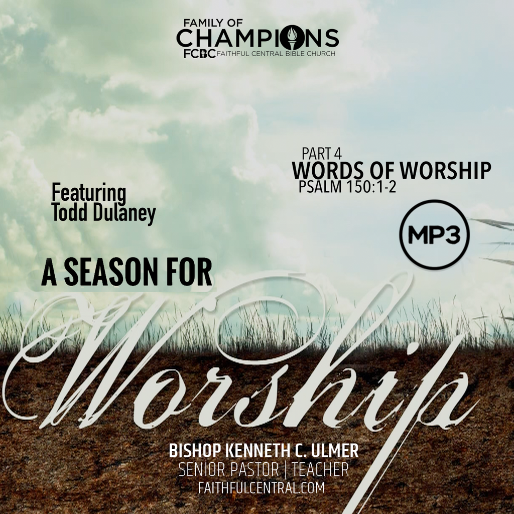 A Season For Worship: Words For Worship Part 3 (MP3 Download)