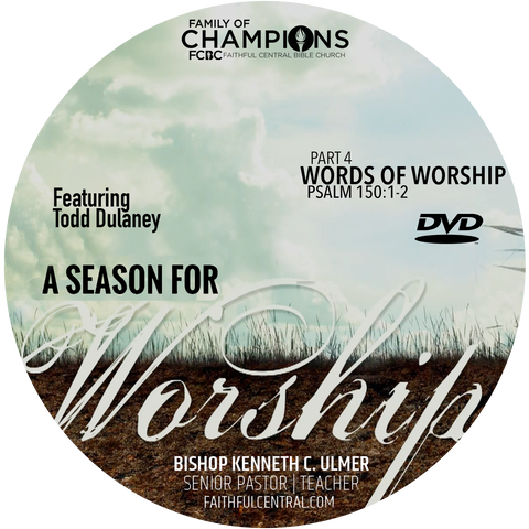 A Season For Worship: Words For Worship Part 3 (DVD)