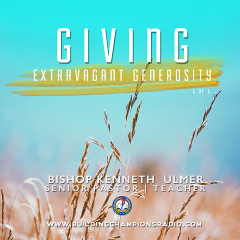 Giving: 05 Extravagant Generosity (MP3 Download)