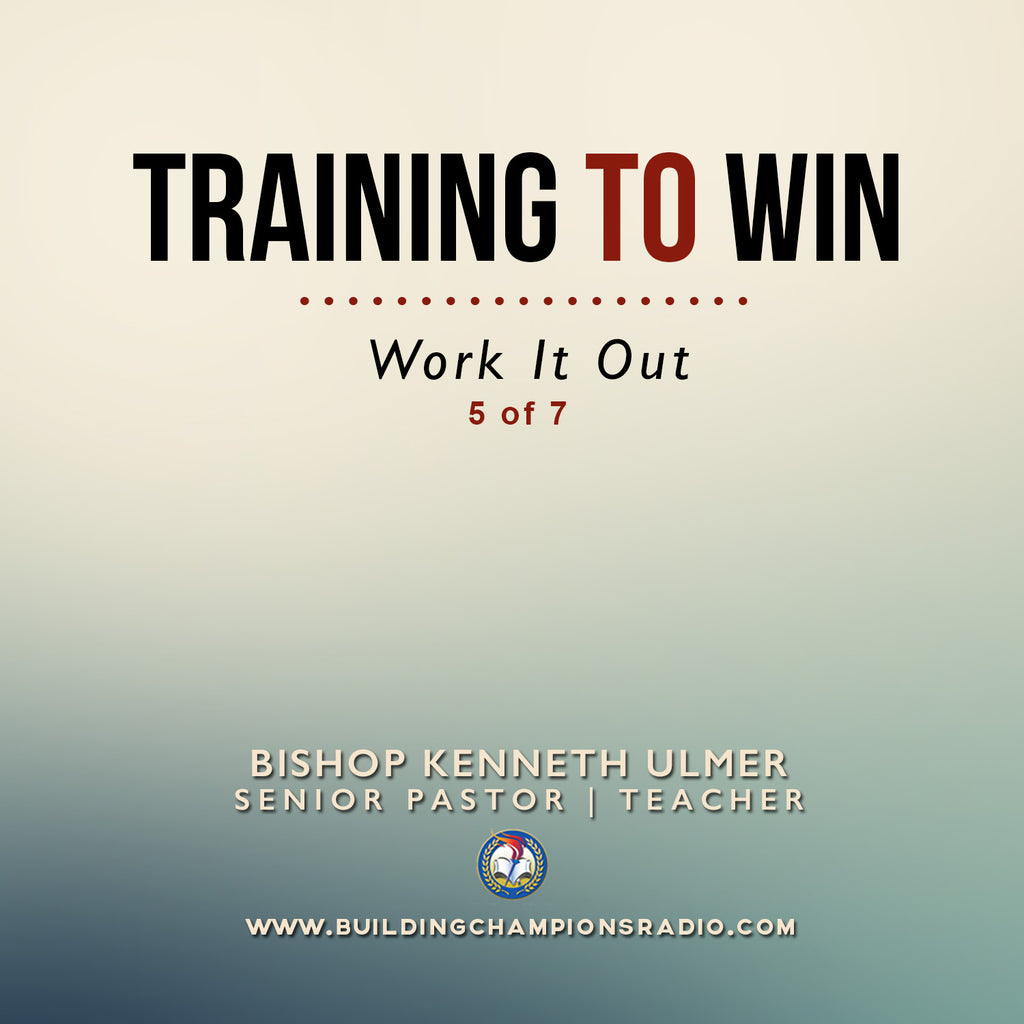Training To Win- Work It Out (MP3 Download)