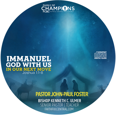 Immanuel, God With Us In Our Next Move (CD)
