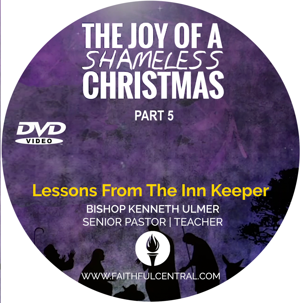 The Joy of A Shameless Christmas Part 5: Lessons From The Inn Keeper (DVD)