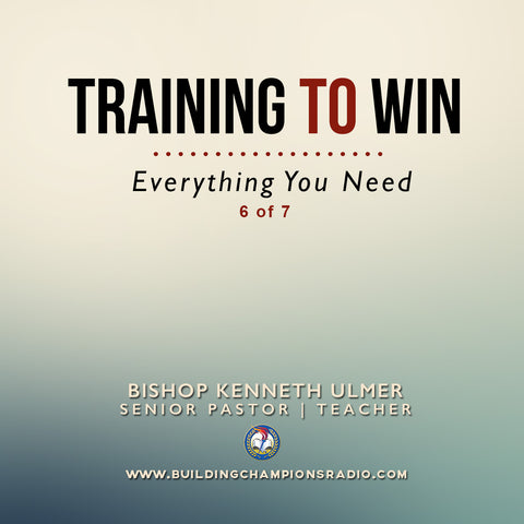 Training To Win- Everything You Need (MP3 Download)