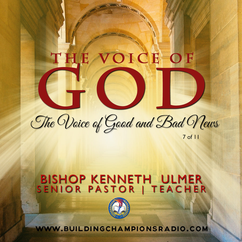 The Voice of God: The Voice of Good News & Bad News (MP3 Download)