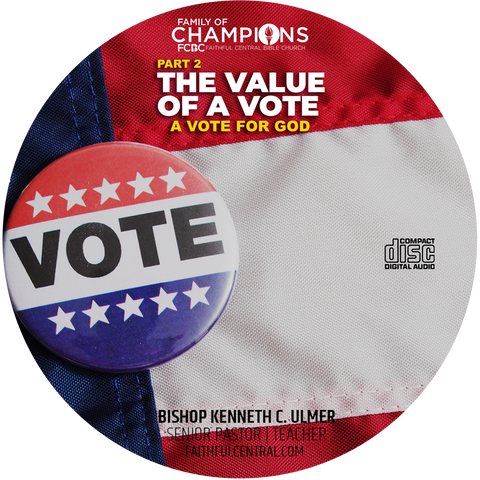 The Value of A Vote Part 2: A Vote By God (CD)
