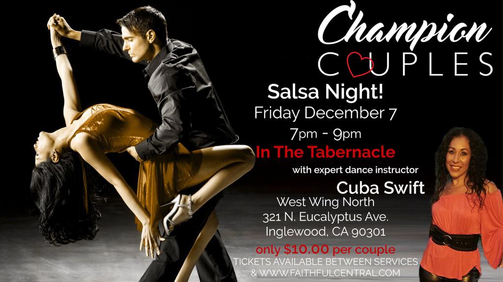 Salsa Night - December 7, 2018