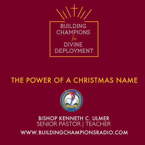 The Power of A Christmas Name (MP3 Download)