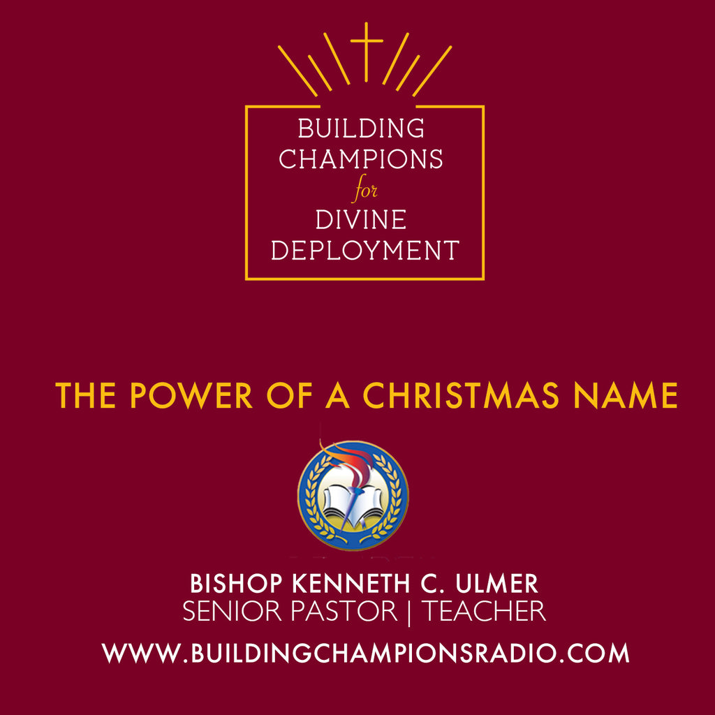 Christmas: The Power of A Christmas Name (MP3 Download)
