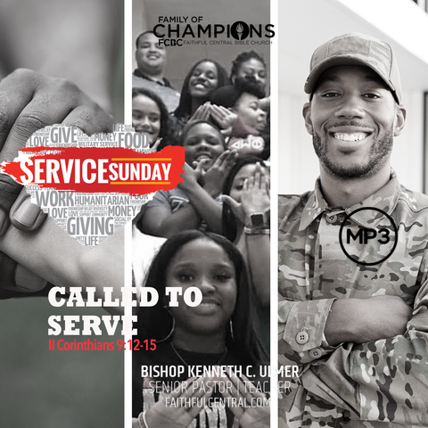 Called To Serve (MP3 Download)