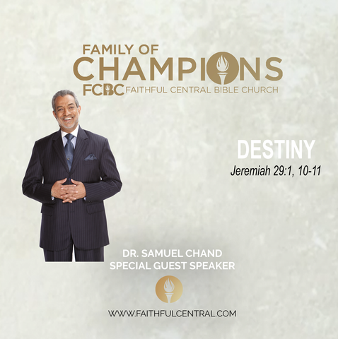 Destiny - Dr. Samuel Chand (MP3 Download)