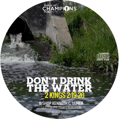Don't Drink The Water (CD)