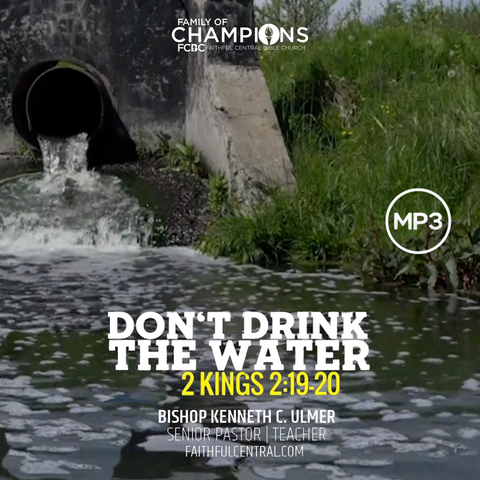 Don't Drink The Water (MP3 Download)