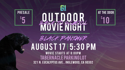 Black Panther Outdoor Movie Night