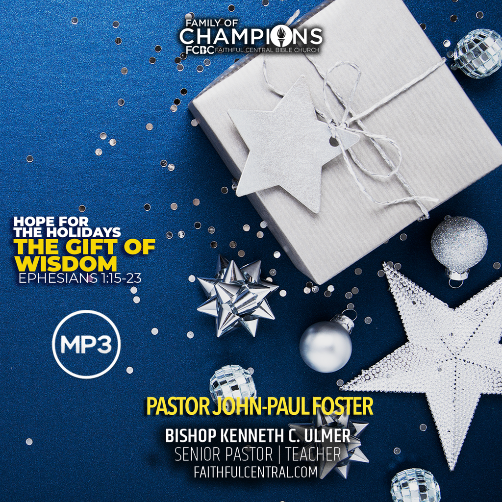 Hope For The Holidays: The Gift of Wisdom (MP3 Download)