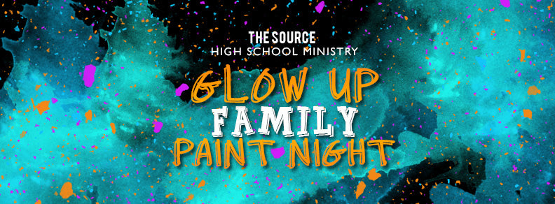 SPONSOR TICKET Glow Up Family Paint Night