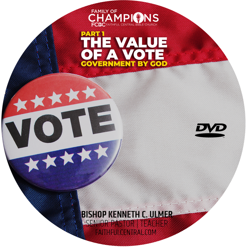 The Value of A Vote Part 1: Government By God (DVD)