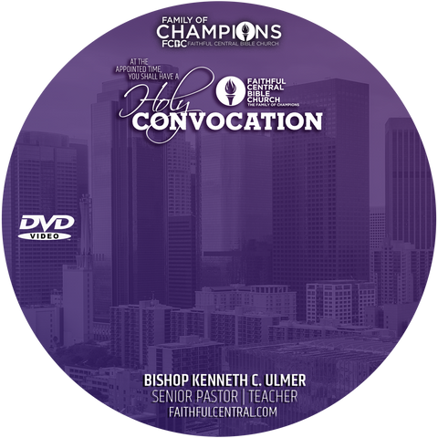 Holy Convocation 2021 (DVD)