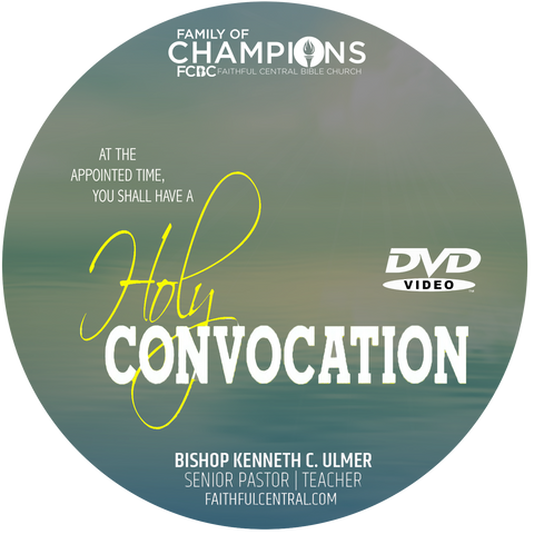 2019 Holy Convocation (DVD)