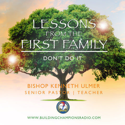 Lessons From The First Family: Don't Do It (MP3 Download)
