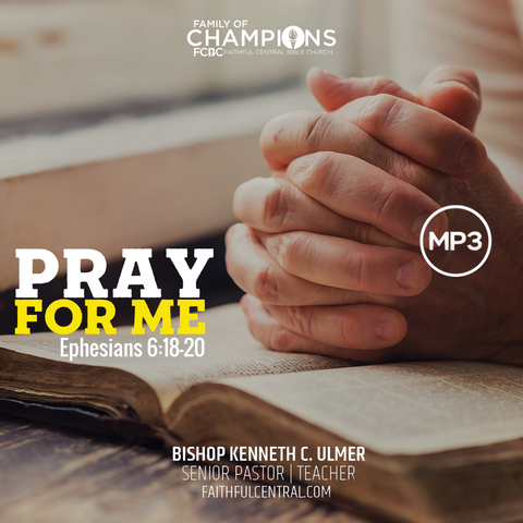 Pray For Me (MP3 Download)