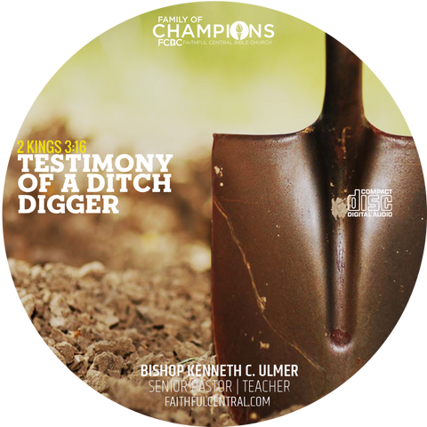 Testimony of A Ditch Digger (CD)
