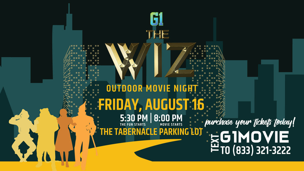 The Wiz Outdoor Movie Night