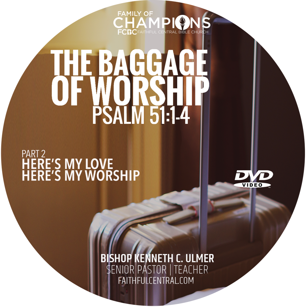Here's My Love; Here's My Worship: The Baggage of Worship Part 2 (DVD)