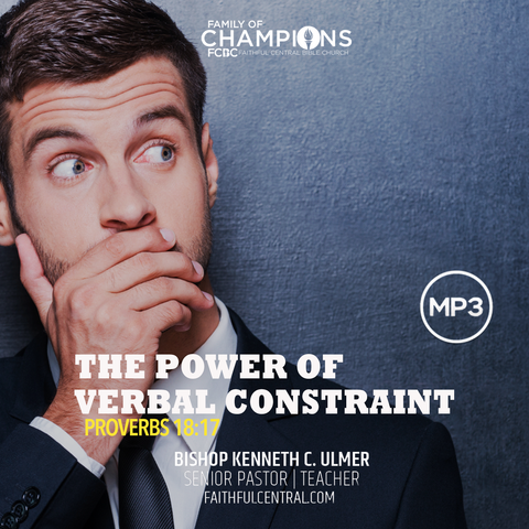 The Power of Verbal Constraint (MP3 Download)