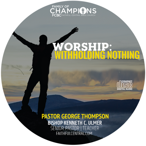 Worship: Withholding Nothing (CD)