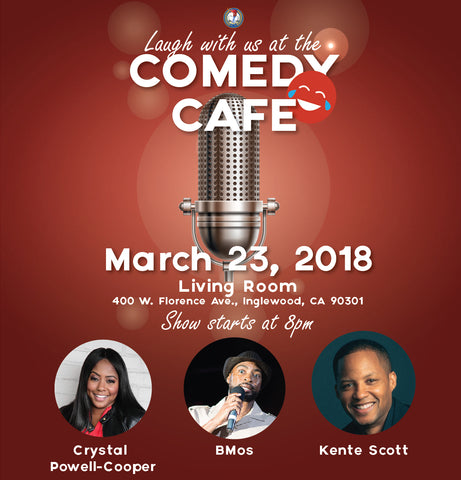 Comedy Cafe March 2018