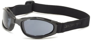 Bobster Crossfire Small Folding Goggles, Black Frame/Smoked Anti-Fog Lens - MyBikeCo