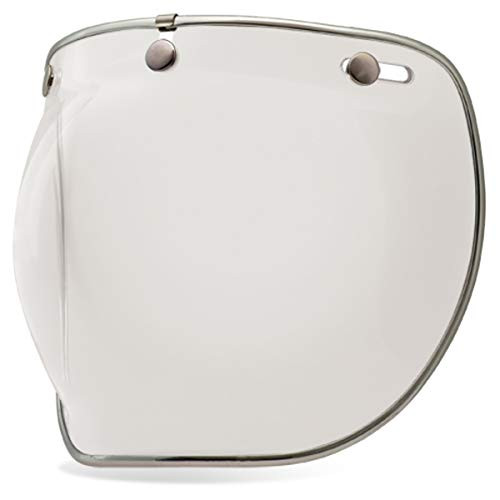 Bell 3-Snap Bubble Deluxe Shield, Clear - MyBikeCo