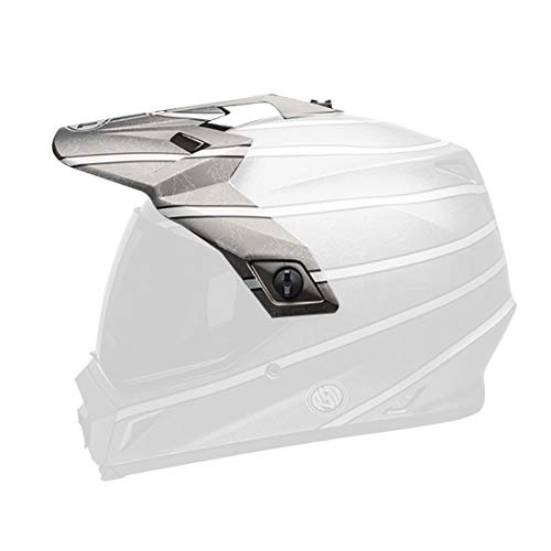 Bell Powersports MX-9 Adventure Helmet - Replacement Visor - RSD Titanium - 7086425 - MyBikeCo