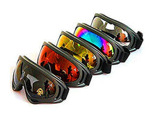 Load image into Gallery viewer, Motorcycle Goggles - Glasses Set of 5 - Dirt Bike ATV Goggles Anti-UV 400 - MyBikeCo