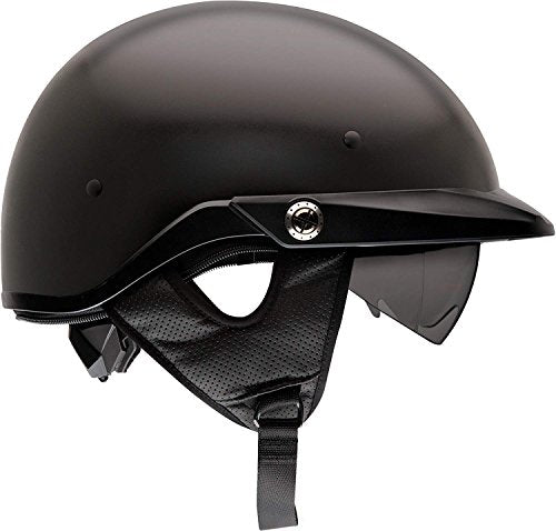 Bell Pit Boss Open-Face Motorcycle Helmet (Solid Matte Black, X-Large/XX-Large) - MyBikeCo
