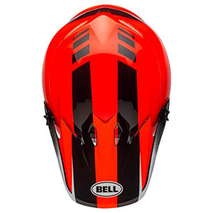 Bell MX-9 MIPS Off-Road Motorcycle Helmet (Dash Gloss Orange/Black, Large) - MyBikeCo