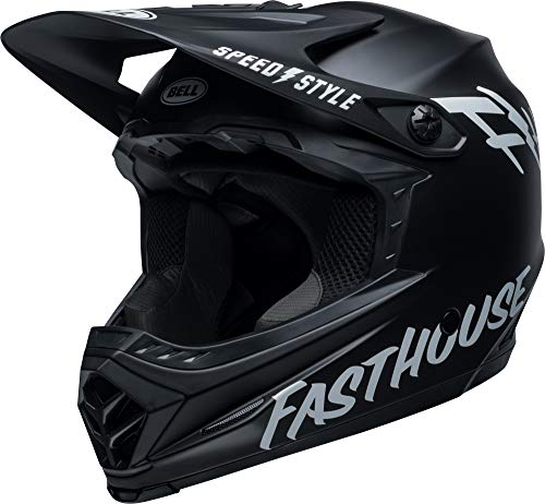 Bell Full-9 Fusion MIPS Adult Full Face Bike Helmet (Fasthouse Matte Black/White (2019), Medium) - MyBikeCo